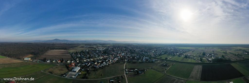 Luftbilder Luftaufnahmen von Einhausen
